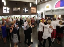 Christmas Scottish ceilidh night a great success