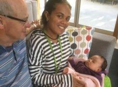 Romac arranges major eye surgery for baby Rosalia